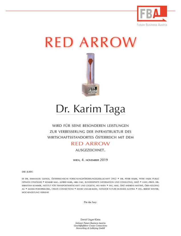 Red Arrow - Karim Taga