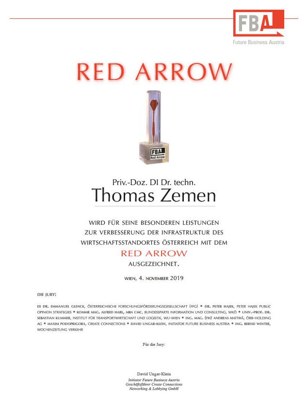 Red Arrow - Thomas Zemen